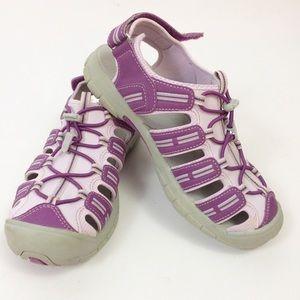 Khombu youth girls purple water outdoor shoes